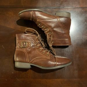 Madden Girl Brown Ankle Booties